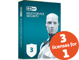 ESET Multi-Device Security Pack 3